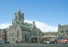 The Dublinia is a museum in Dublin focusing on the Viking and medieval world in Ireland Stock Images