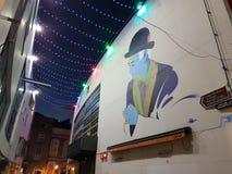 Dublino街道艺术性的artisticstreetart都伯林 免版税库存图片