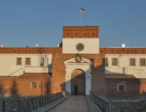 Dubno Castle gate, Ukraine Royalty Free Stock Image