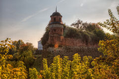 Dubno Castle Royalty Free Stock Images
