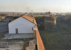 Dubno Castle walls, Ukraine Stock Photo