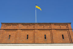 Dubno Castle walls, Ukraine Royalty Free Stock Photography