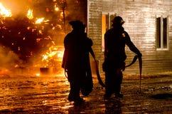 duBois Budowy Ogień 01-07-2012 Zdjęcia Stock