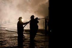 duBois Budowy Ogień 01-07-2012 Obrazy Royalty Free