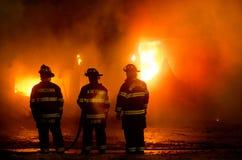 duBois Budowy Ogień 01-07-2012 Zdjęcie Royalty Free