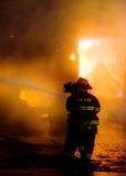 DuBois konstruktionsbrand 01-07-2012 Royaltyfria Bilder