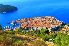 Duborvnik in Croazia Fotografia Stock