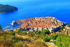 Duborvnik in Kroatien Stockfoto