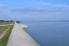 Dubrava lake landscape in Prelog, Croatia. Royalty Free Stock Images