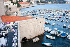 dubronik λιμάνι Στοκ Εικόνες
