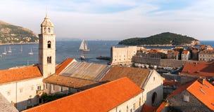 Dubrovinik Kroatien Royaltyfria Foton