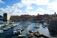 Dubrovink Harbour Stock Photos