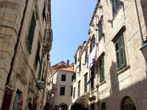 Dubrovnick Kroatië Royalty-vrije Stock Foto's