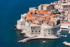 Dubrovnik, άποψη της Κροατίας από την απόσταση Στοκ Φωτογραφία
