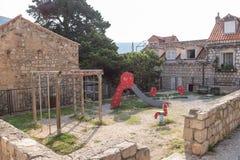 Dubrovnik και οι διάσημες οδοί του στοκ φωτογραφίες