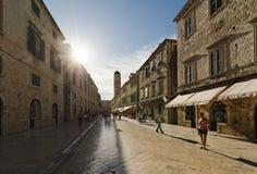 Dubrovnik, Κροατία. Παλαιά πόλη στοκ φωτογραφία με δικαίωμα ελεύθερης χρήσης