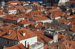 dubrovnik στέγες Στοκ φωτογραφίες με δικαίωμα ελεύθερης χρήσης