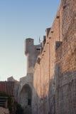 dubrovnik τοίχος Στοκ Φωτογραφίες
