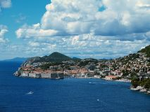 Dubrovnik 02 - Croatia. Panorama - the old town Dubrovnik close up - Croatia, Europe stock photos