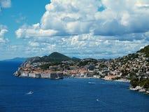 Dubrovnik 02 - La Croatie photos stock
