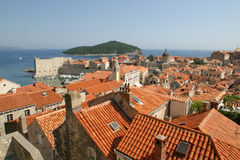 Dubrovnik. The old town-Dubrovnik,Croatia Royalty Free Stock Images