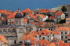 Dubrovnik. Old city, middle ages, Croatia Royalty Free Stock Photo