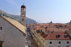 Dubrovnik. Old town of Dubrovnik, Croatia, Europe Royalty Free Stock Photo
