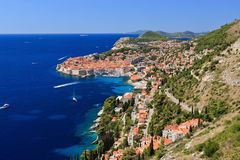 Dubrovnik. Medieval town in Croatia Stock Images