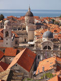 Dubrovnik. Unesco protected site Dubrovnik old town, Croatia Royalty Free Stock Photos