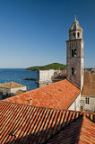Dubrovnik. A scene of Dubrovnik old town with Adriatic sea in background Royalty Free Stock Image