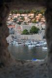 Dubrovnik stockfoto