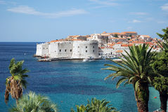 Dubrovnik. Panorama, Croatia. Most popular travel destination in Adriatic sea Royalty Free Stock Photo