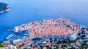Dubrovnik from above Stock Photography
