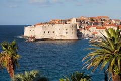 Dubrovnik on the Adriatic Sea Stock Photos