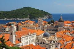Dubrovnik, Kroatien Stockfotografie