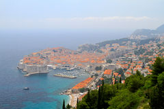Dubrovnik aerial Royalty Free Stock Images