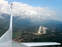 Dubrovnik airport Stock Photo