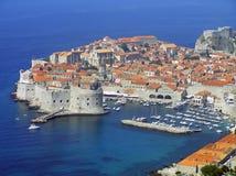 Dubrovnik-alte Stadt, Kroatien Stockbild