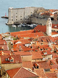 Dubrovnik-alter Kanal Lizenzfreie Stockfotos