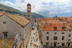 Dubrovnik anteny strzał Obraz Stock