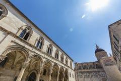 Dubrovnik architektura obrazy stock