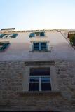 Dubrovnik arkitektur Arkivbild