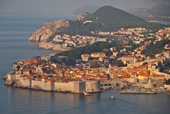 Dubrovnik in autumn Stock Photo