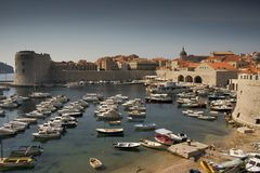 Dubrovnik Bay IV Royalty Free Stock Photo
