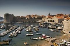 Dubrovnik Bay IV. The harbor of Dubrovnik, Croatia Royalty Free Stock Photo
