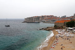 Dubrovnik beach Royalty Free Stock Photo