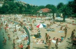 Dubrovnik beach,Croatia Stock Photo