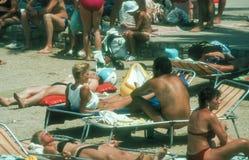 Dubrovnik beach,Croatia Stock Images