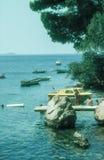 Dubrovnik beach,Croatia Royalty Free Stock Images