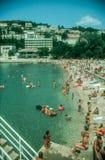 Dubrovnik beach,Croatia Royalty Free Stock Photography